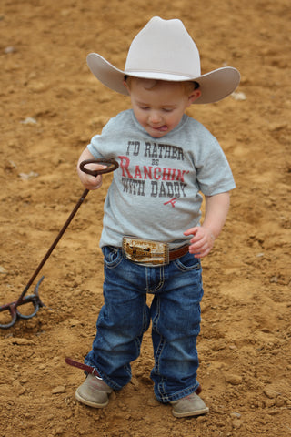 I'd Rather Be Ranchin' With Daddy S/S Tee