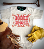 Rodeo Romeo - S/S Toddler Tee - Oatmeal