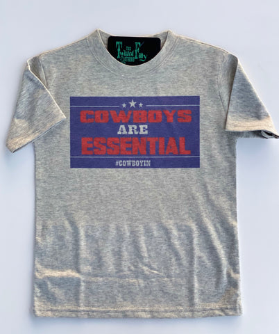 Cowboys Are Essential S/S Toddler Tee