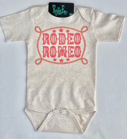 Rodeo Romeo - L/S One Piece - Infant - Oatmeal