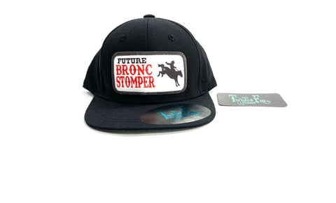 Future Bronc Stomper Black Snap Back - Toddler Hat