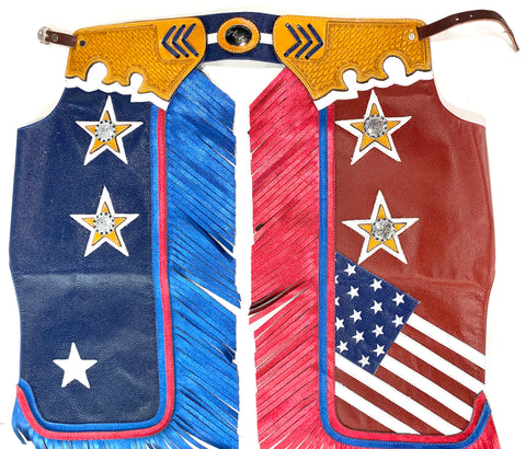 Rodeo Chaps - American Flag