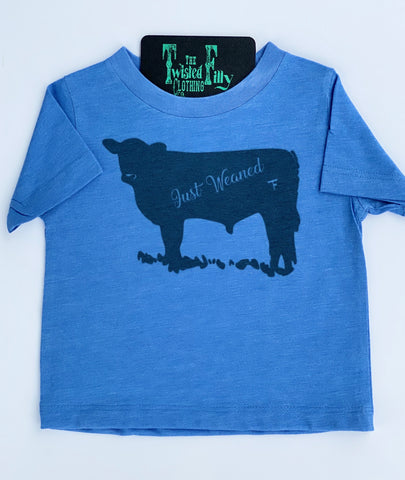 Just Weaned - S/S Tee - Blue