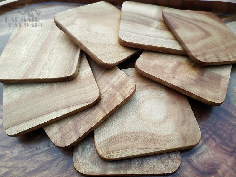 Reclaimed Willow Wood Coasters - GNRL Store