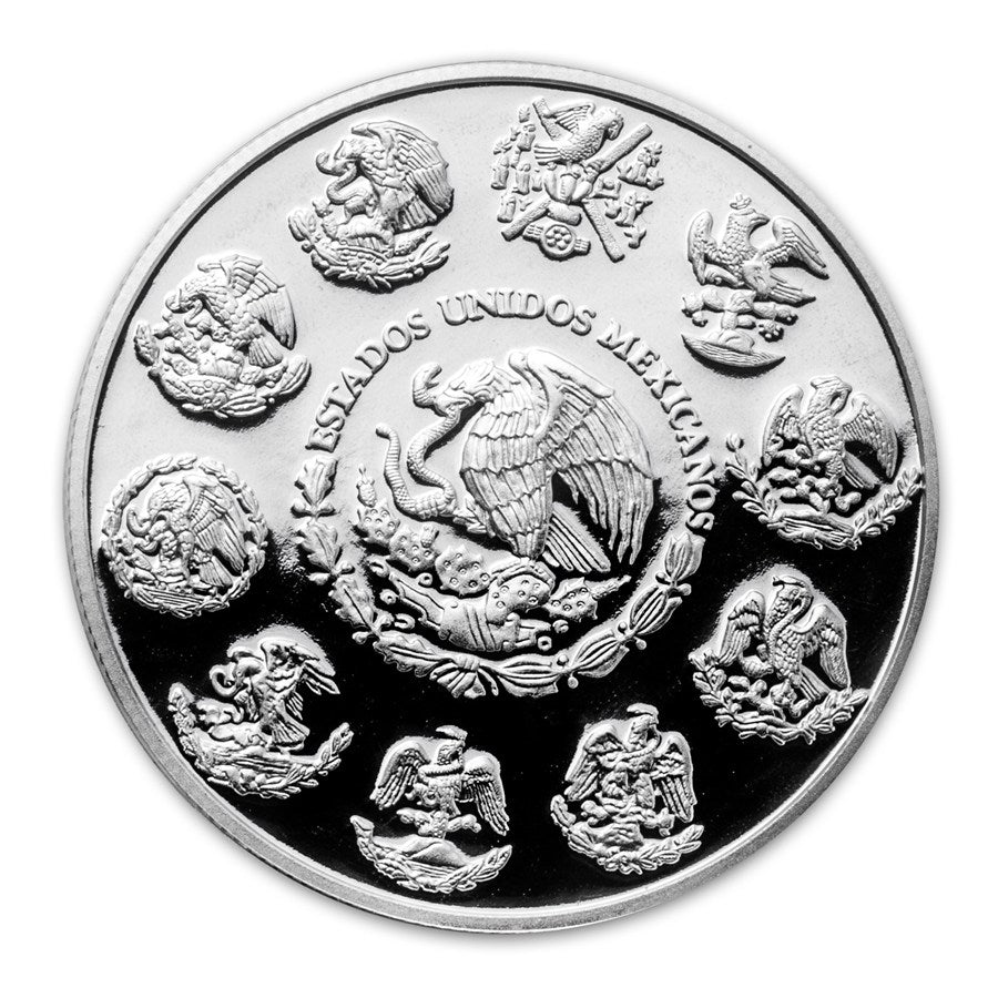 2012 Observatorio- Observatory at Chichén Itzá 2oz Silver Proof Coin