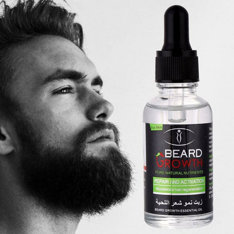 Natural Organic Beard Growth Oil (40ml)