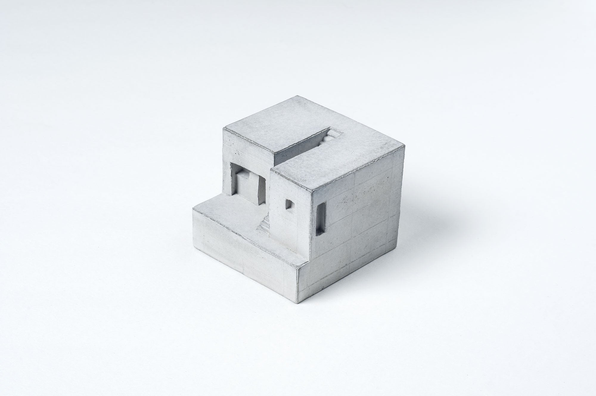 Miniature Concrete Home #4