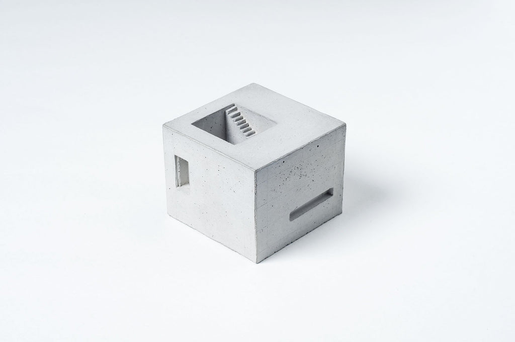 Miniature Concrete Home #6