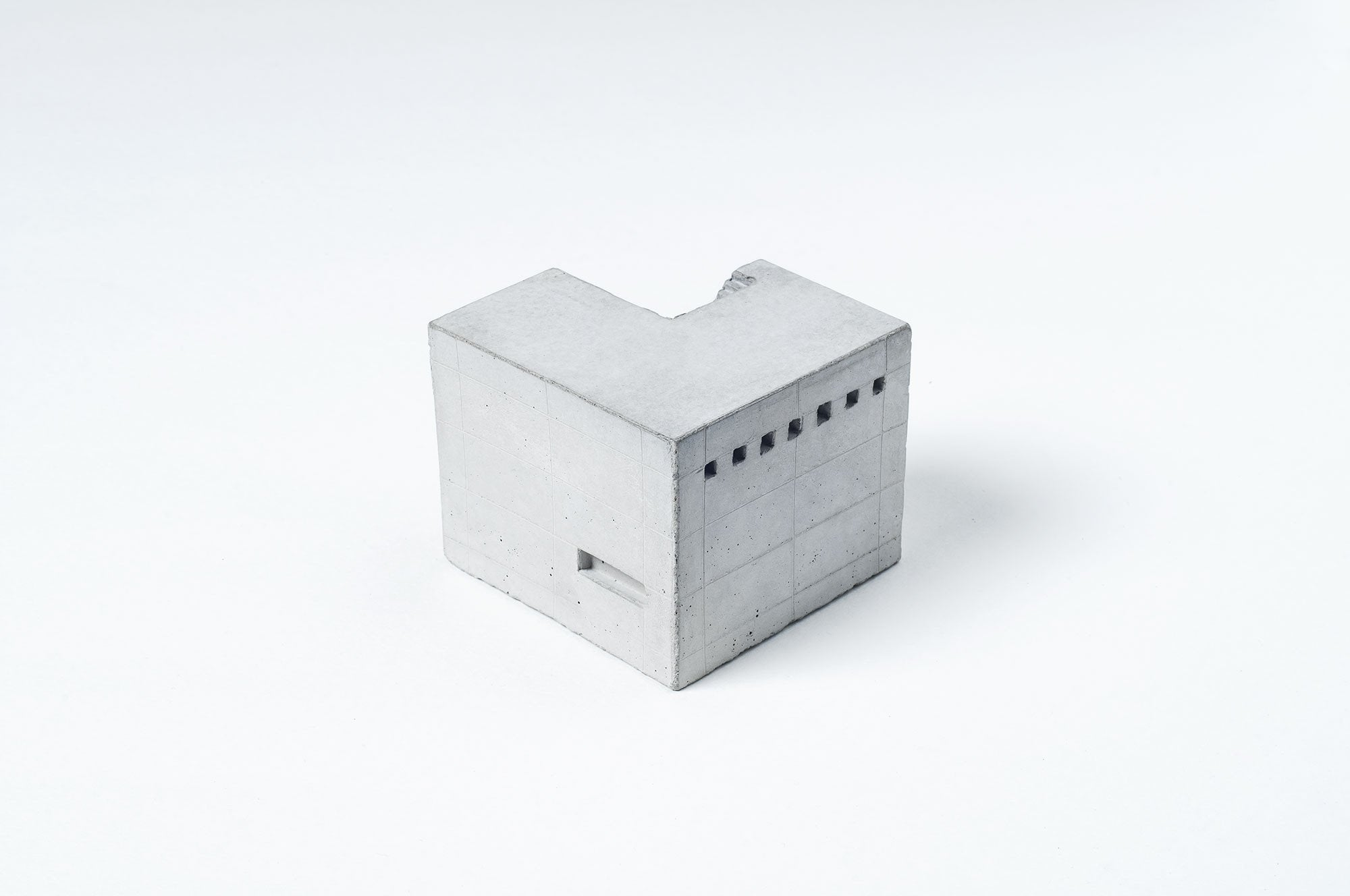 Miniature Concrete Home #9