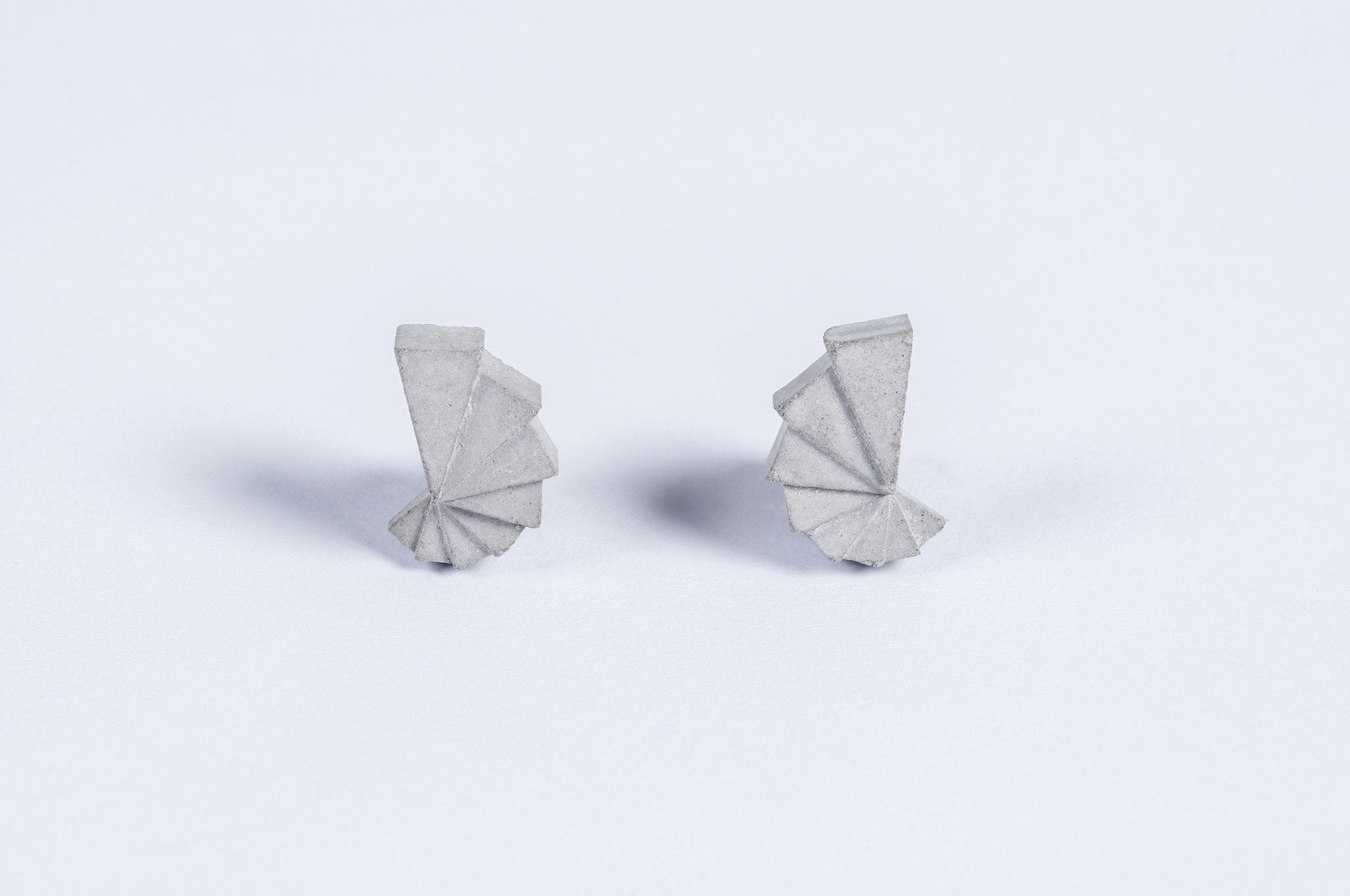 Micro Concrete Earrings #1