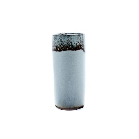 "1.75"" Yixing Shell Glazed Mame Cylinder Pot"