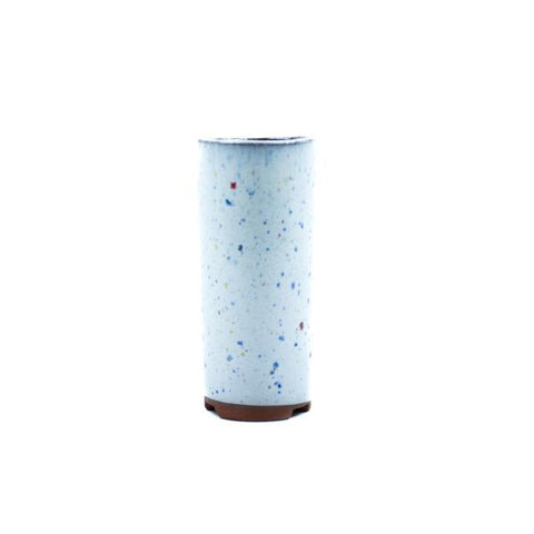 "1.75"" Yixing Speckled Glazed Mame Cylinder Pot"