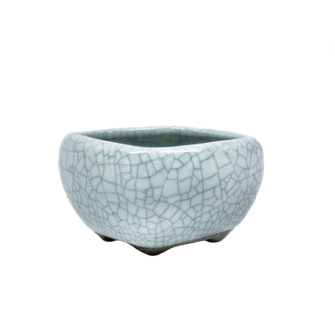 "3.5"" Yixing Egg Shell Pattern Shohin Pot"