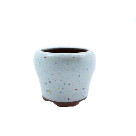 "2.75"" Yixing Speckled Round Brim Pot"