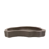 "11"" Yixing Bonkei & Saikei Brown Tray Pot"