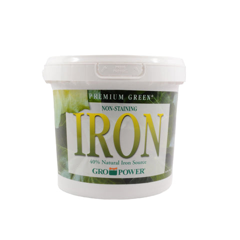 Gro-Power Premium Green Iron (10 lb)