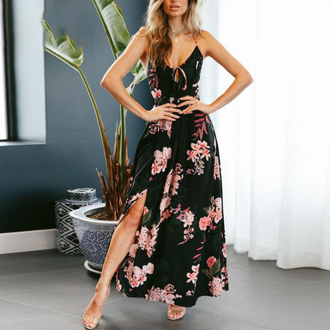 Cristina Sleeveless Maxi Dress