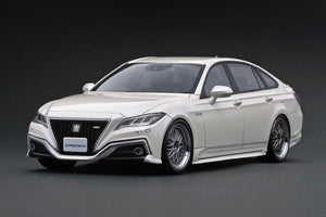 IG ONLINE HOBBY SHOW 2020 pre-production sample 1/18 Toyota Crown (220) 3.5L RS Advance White