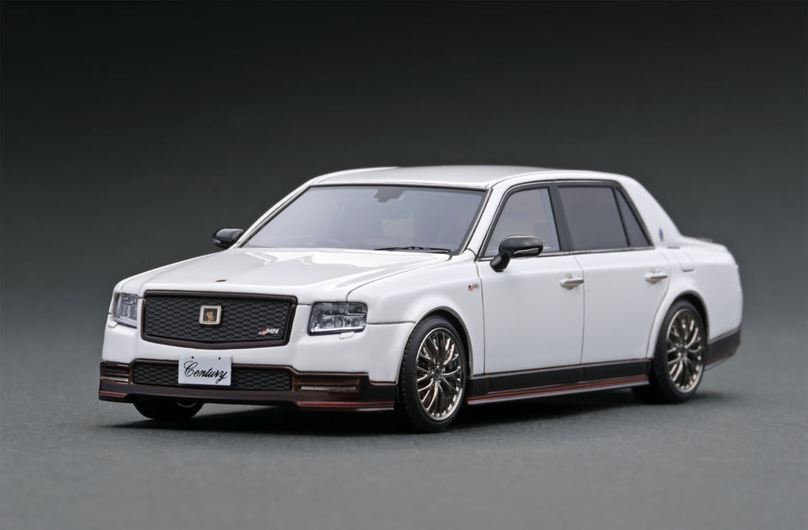 IG ONLINE HOBBY SHOW pre-production sample 1/43 scale Toyota Century (UWG60) GRMN  White