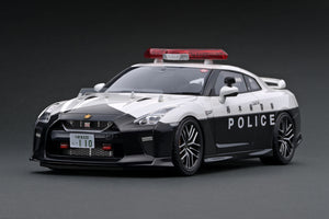 IG ONLINE HOBBY SHOW pre-production sample  1/18 Nissan GT-R (R35) 2018 TOCHIGI POLICE EXPRESS WAY PATROL