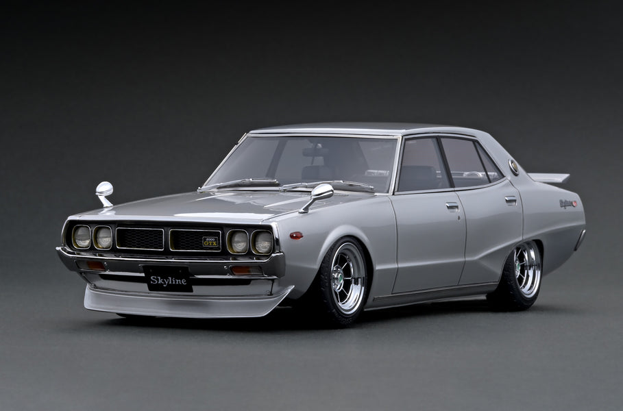 IG ONLINE HOBBY SHOW 2020 pre-production sample 1/18 Nissan Skyline 2000 GT-X (GC110) Yonmeri