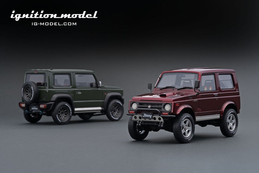 IG ONLINE HOBBY SHOW 2020 pre-production sample 1/18 Jimny (JA11)