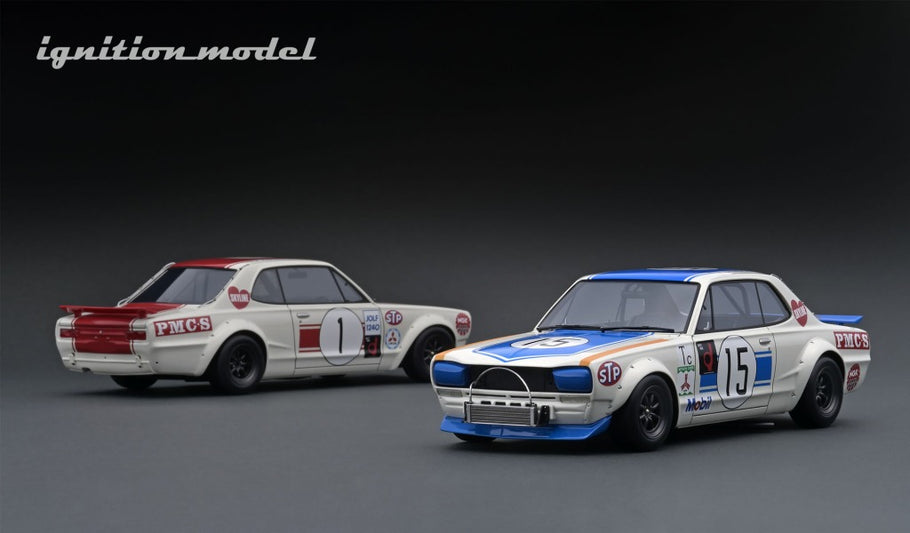 IG ONLINE HOBBY SHOW 2020 pre-production sample 1/18 Hakosuka Racing