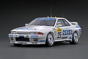IG ONLINE HOBBY SHOW 2020 pre-production sample 1/18 ZEXEL SKYLINE (#25) 1991 SPA 24 hours