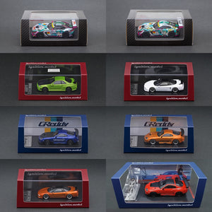 NEW ARRIVAL 1/64 scale!  ignition model NSX, R34, Supra & Good Smile Racing HATSUNE MIKU AMG Super GT Ver.