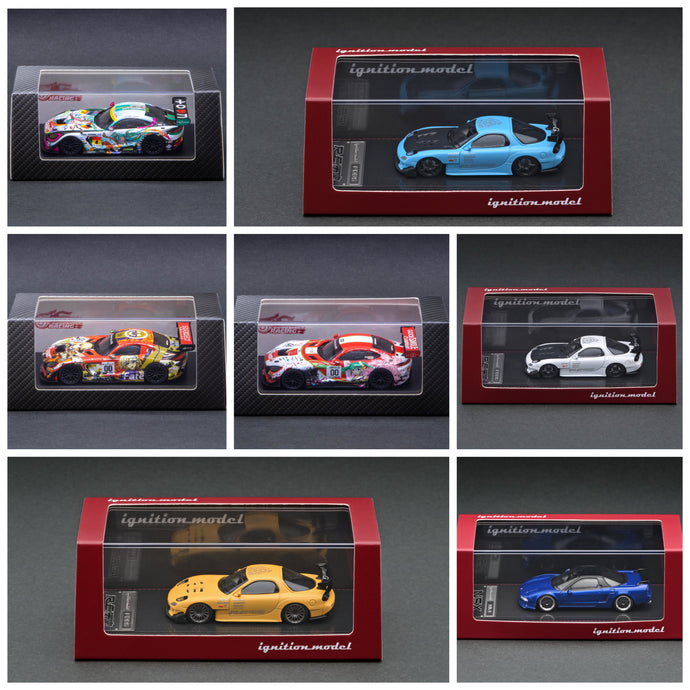 NEW ARRIVAL 1/64 scale!  ignition model  RX7, NSX & Good Smile Racing