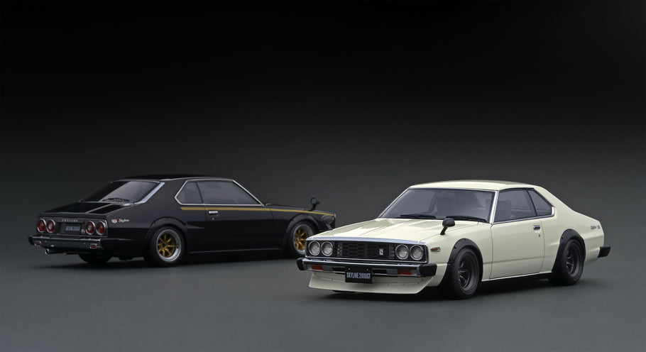 Pre-production sample 1/18  Nissan Skyline 2000 GT-ES (C210)