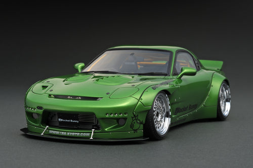 IG1037 Rocket Bunny  RX-7 (FD3S)  Green Metallic