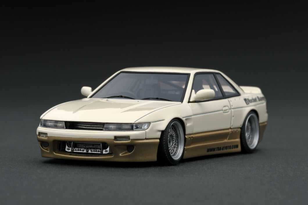 IG1181  Rocket Bunny S13 V1  White/Gold