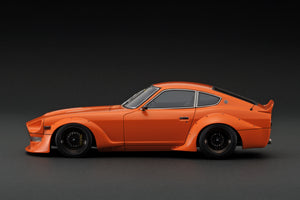 IG online shop limited!  IG1357  Nissan Fairlady Z (S30) STAR ROAD Orange With Mr. Inoue