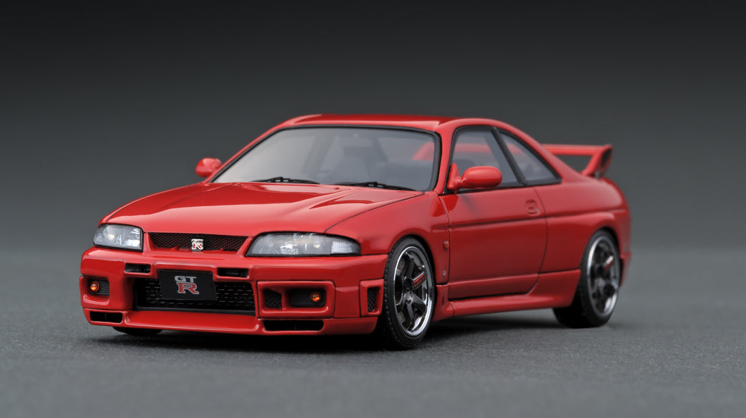 IG1369  Nissan Skyline GT-R (R33) V-spec Red