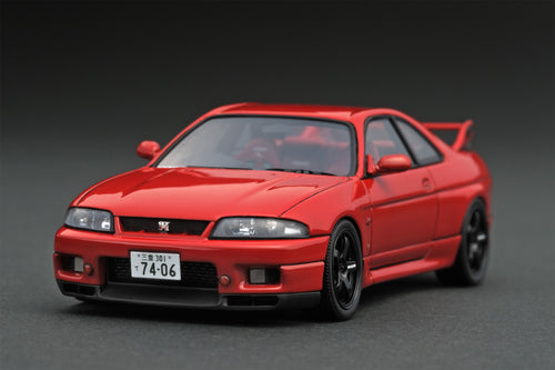 IG online shop limited!  IG1371  Nissan Skyline GT-R (R33) Matsuda Street Wine Red
