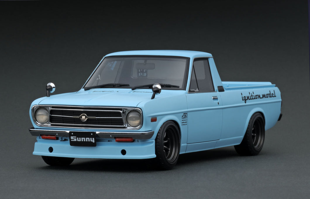 IG1439  Nissan Sunny Truck Long (B121)  Light Blue