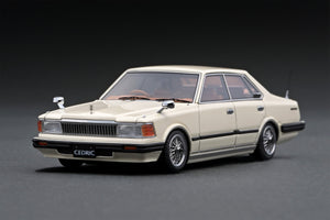 IG1452 Nissan Cedric (P430) 4Door Hardtop 280E Brougham  White ※Wire-Wheel --- PREORDER (delivery in Sep 2020)