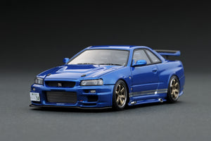 IG1478 TOP SECRET GT-R (BNR34) Blue