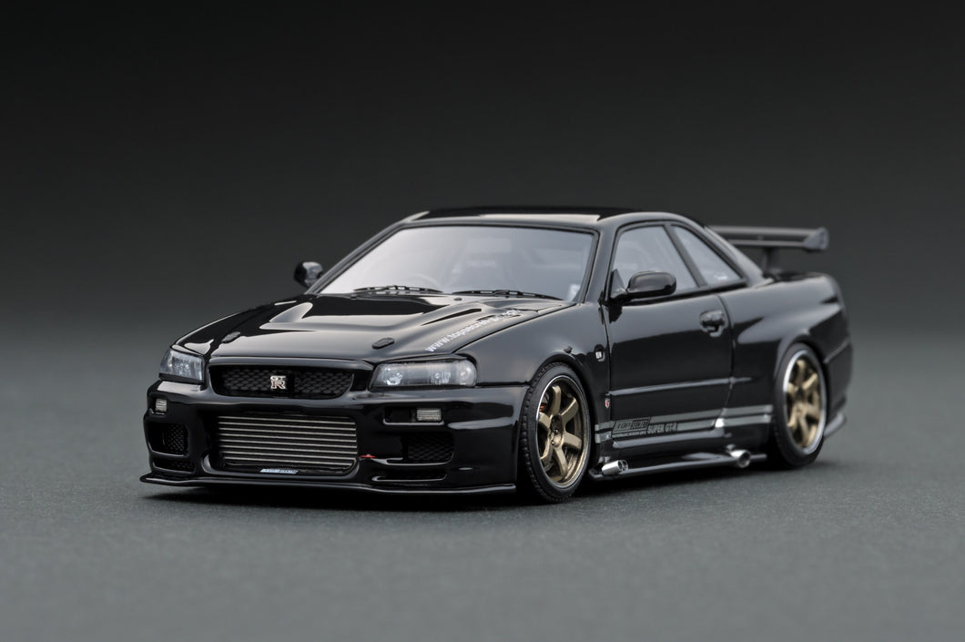 IG1479 TOP SECRET GT-R (BNR34) Black