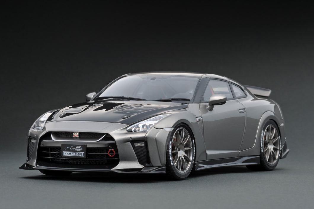 IG1533  TOP SECRET GT-R (R35) Gun Metallic