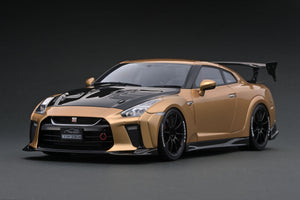 IG1534 TOP SECRET GT-R (R35) Gold