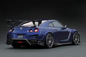 IG1535 TOP SECRET GT-R (R35) Blue Metallic