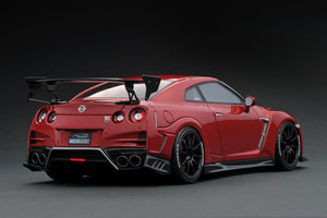 IG1536 TOP SECRET GT-R (R35) Red