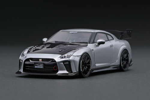 IG1539 TOP SECRET GT-R (R35) Silver