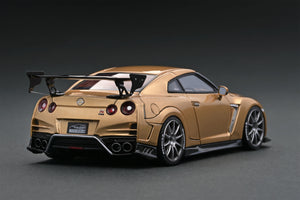 IG1540 TOP SECRET GT-R (R35) Gold