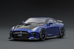IG1541 TOP SECRET GT-R (R35) Blue Metallic