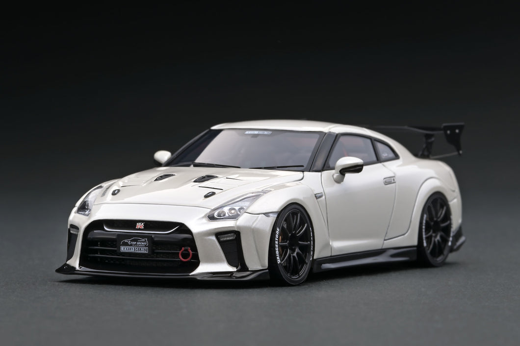 IG1543 TOP SECRET GT-R (R35) White Pearl