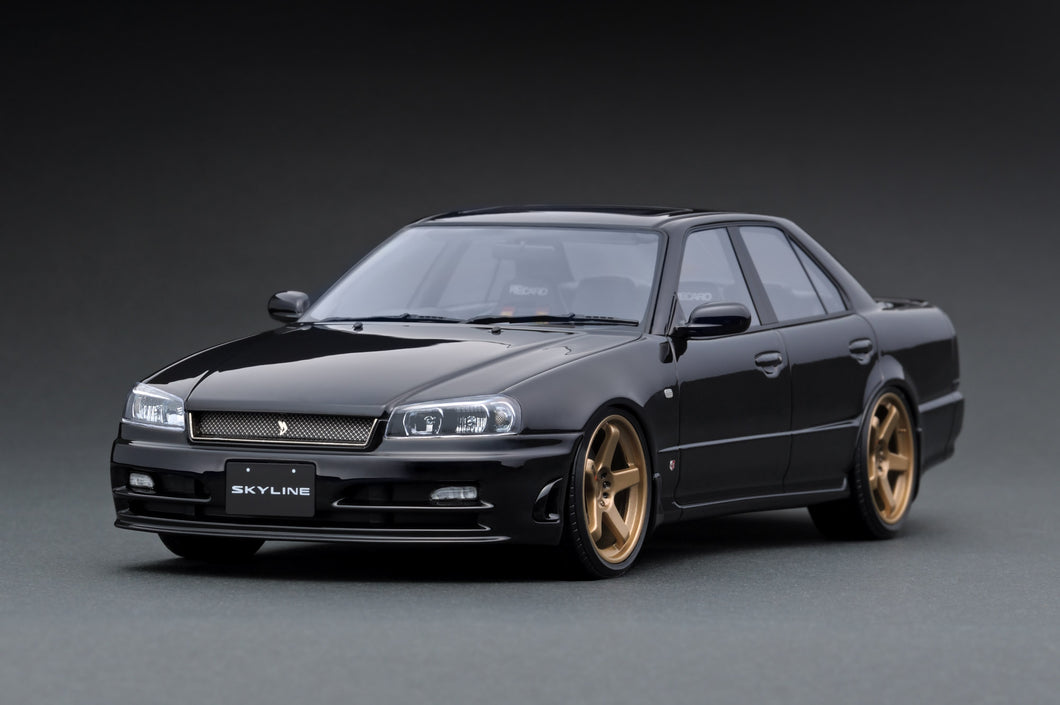 IG1579 Nissan Skyline 25GT Turbo  (ER34)  Black