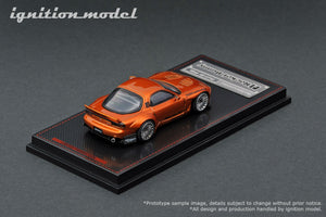 IG1/64 DIECAST COLLECTION  Rocket Bunny RX-7 (FD3S)  3pcs set ( Orange Metallic, White, Red Metallic)